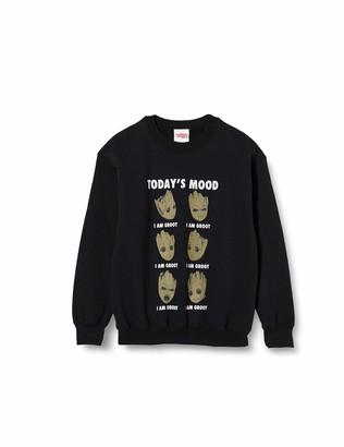 Marvel Girl's Guardians of The Galaxy Vol 2 Groot Today's Mood Sweatshirt