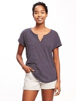 Old Navy Relaxed Rolled-Cuff Tee for Women