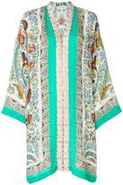 Etro mixed print tunic dress