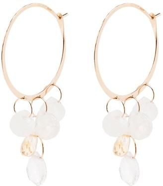 Melissa Joy Manning 14kt yellow gold Sherbet Mix hoop earrings