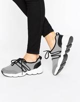 Monki Mesh Detail Sneakers