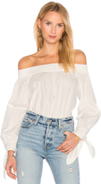 Blaque Label Poplin Off Shoulder Top