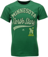 Majestic Men's Minnesota North Stars Vintage Inspired Performance T-Shirt
