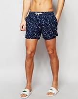 Native Youth Ditsy Floral Print Swim Shorts