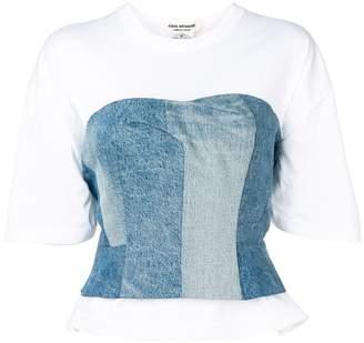 Junya Watanabe corset t-shirt