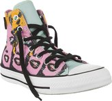 Converse Unisex Chuck Taylor All Star Andy Warhol Marilyn Monroe High Top Sneaker - 3.5 Men - 5.5 Women