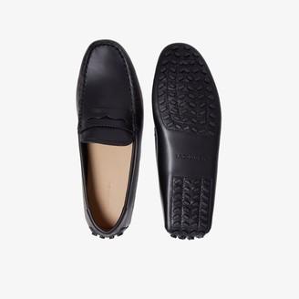Lacoste Men's Concours Nautic Premium Leather Driving Shoes