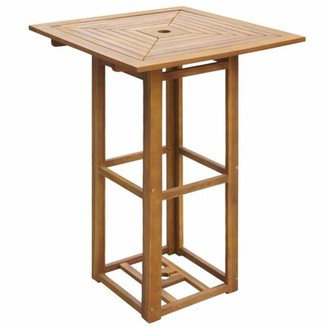 Glascock Wooden Bar Table Bay Isle Home