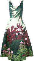 Alice + Olivia Alice+Olivia - floral print dress - women - Cotton/Polyester/Spandex/Elastane - VI