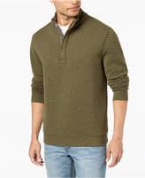Tommy Bahama Men's Quiltessential Half-Zip Pullover