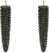 Eddie Borgo Mini Pav Spike Earrings Earring