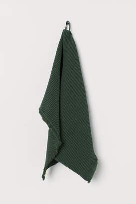 H&M Waffled Hand Towel - Green