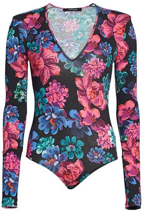 Andamane Carmel Floral Bodysuit