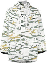 MHI camouflage hooded jacket - men - Nylon - M