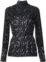 Yigal Azrouel floral print peplum blouse - women - Silk - 6