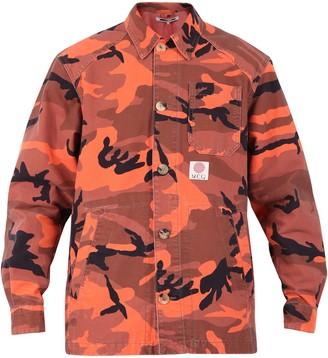 McQ Camouflage Denim Jacket