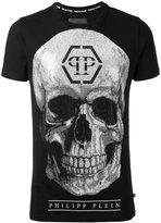 Philipp Plein glitter skull T-shirt
