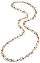 Eddie Borgo Small Swivel Link Necklace, 40""