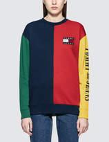 Tommy Jeans 90S Colorblock Cn Sweatshirt