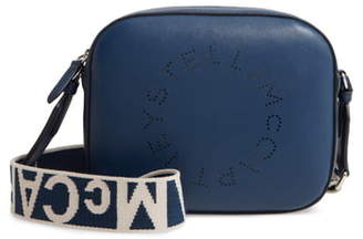 Stella McCartney Mini Perforated Logo Alter Nappa Faux Leather Camera Bag