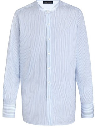 Louis Vuitton Grandad Collar Shirt