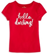 Kate Spade Girls' Hello Darling Tee - Big Kid