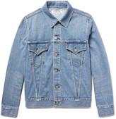 Remi Relief Slim-Fit Distressed Denim Jacket
