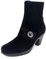 La Canadienne Dorthea Women Pointed Toe Suede Black Ankle Boot.