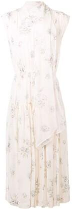 Joseph Floral Midi Dress