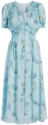 Tanya Taylor Alfonsa Midi Dress