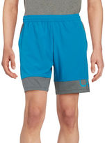 Calvin Klein High-Rise Mesh Shorts