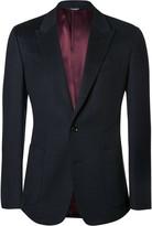 Dolce & Gabbana - Blue Slim-fit Cashmere And Cotton-blend Blazer