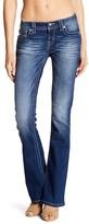 Miss Me Metallic Stitch Mid Rise Boot Jeans