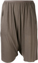 Rick Owens Lilies draped drop-crotch shorts - women - Cotton/Nylon/Viscose - 40