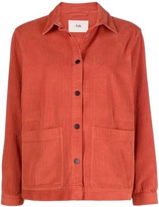 Folk Corduroy Shirt-Jacket