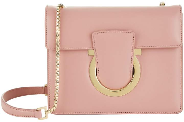 Salvatore Ferragamo Small Leather Thalia Shoulder Bag
