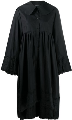 Simone Rocha Asymmetric Hem Shirt Dress