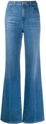 J Brand Joan high-rise flared jeans