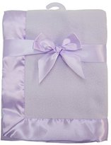 """American Baby Company Fleece Blanket 30"""" X 40"""" with 2"""" Satin Trim by"""