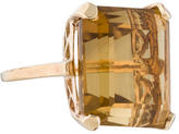 Ring 14K Citrine Cocktail