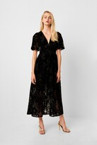 French Connection Hanna Velvet Maxi Dress