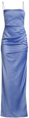 LIKELY Celida Ruched Satin Gown