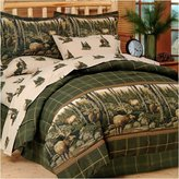 Blue Ridge Home Fashion Trading Rocky Mountain Elk Complete Bed Set
