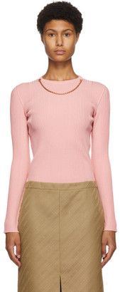 Givenchy Pink Chain Sweater