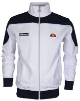 Ellesse Men's Bordoni Panelled Logo Tracktop Jacket