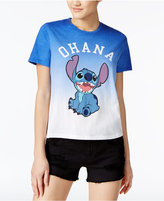 Mighty Fine Disney Juniors' Stitch Ohana Graphic T-Shirt
