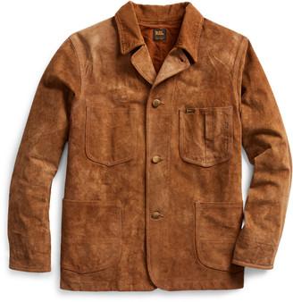 Ralph Lauren Suede Chore Jacket