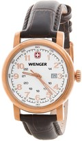 Wenger Urban Classic Analog 34mm Watch - Leather Strap (For Women)