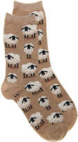 Hot Sox Women's Sheep Crew Socks