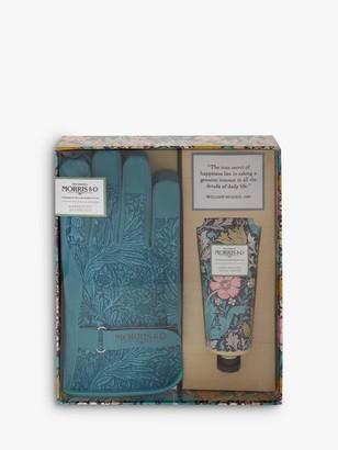Morris & Co. Gloves & Hand Cream Gardening Gift Set
